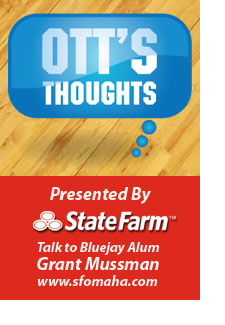 Ott's Thoughts Presented by State Farm -- Talk to Bluejay Alum Grant Mussman