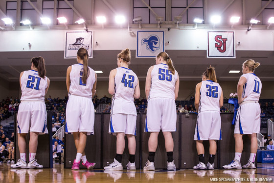 Senior Salute to the Women's Basketball Class of 2014