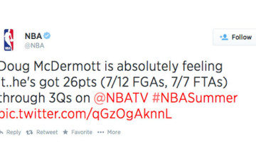 Doug McDermott's 31-point Summer League Performance – Twitter's Reaction