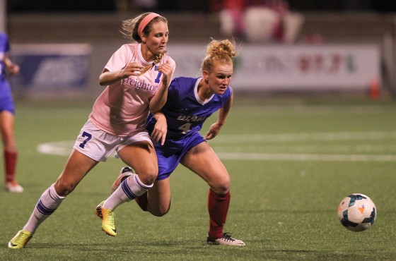 Creighton Women's Soccer Outlasts Jackrabbits In Wild Second Half