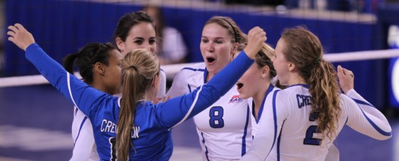 Creighton Volleyball Goes 2-for-2 To Open Season