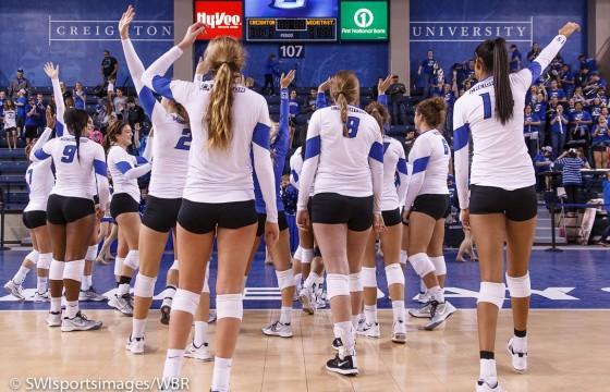 Photo Gallery: Creighton Volleyball Beats Wichita State, Wins Bluejay Invitational
