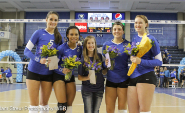Seniors Shine in Creighton Volleyball's Weekend Sweep of Butler, Xavier