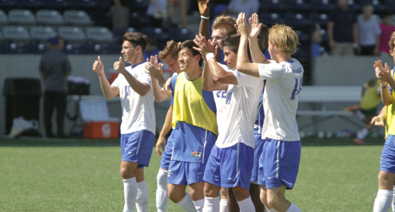Photo Gallery: No. 8 Creighton Men's Soccer Blanks Cincinnati 3-0