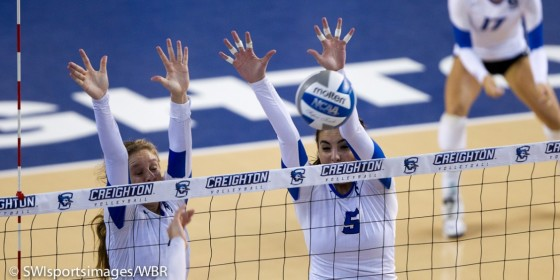 Creighton Volleyball Earns Saturday Split To Wrap Up Non-Conference