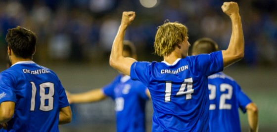 Photo Gallery: Creighton Men's Soccer Defeats #20 Stanford in Opener