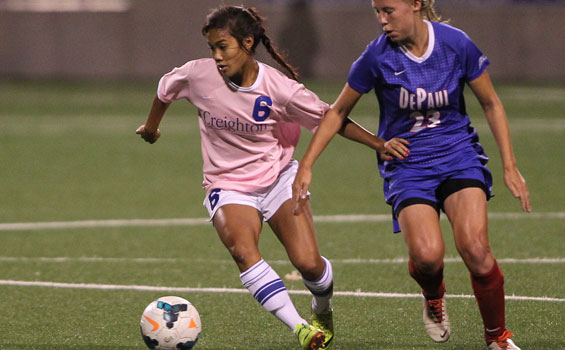 Creighton Women's Soccer Overwhelms New Mexico State