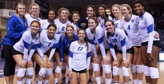 Creighton Volleyball Wins the Bluejay Invitational