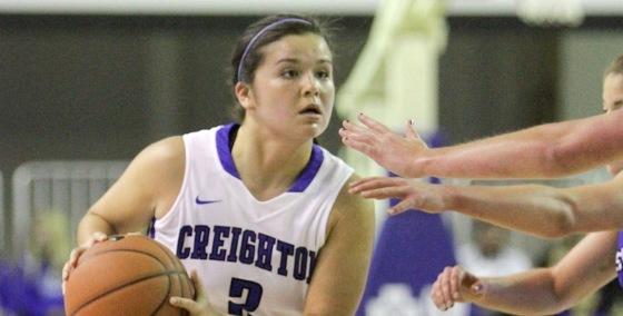 2014-15 Creighton Women's Basketball Profile: Myah Mellman