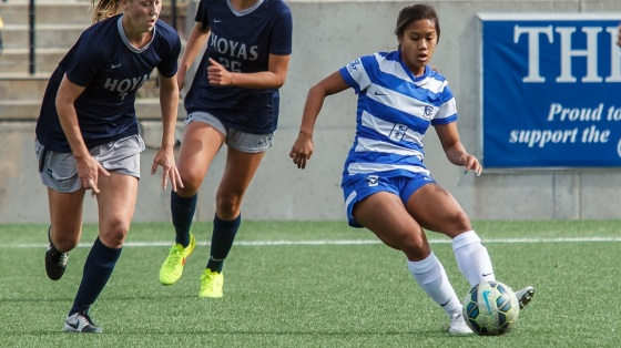 Creighton Women's Soccer Falls 1-0 to No. 25 Hoyas in Home Finale