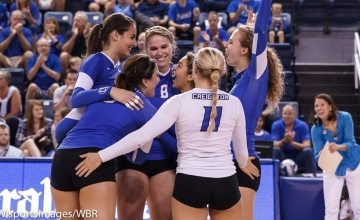 Michelle Sicner pulls Bluejays out of rut in sweep of St. John's