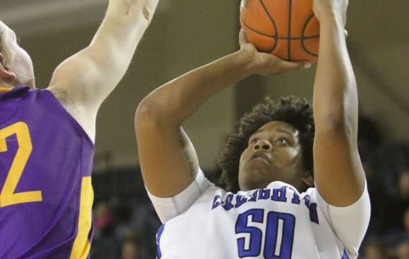 Brianna Rollerson's Career Night Carries Bluejays to Second Straight Win