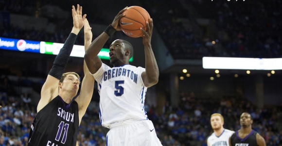 Creighton Lets It Fly in Exhibition Win Over Sioux Falls