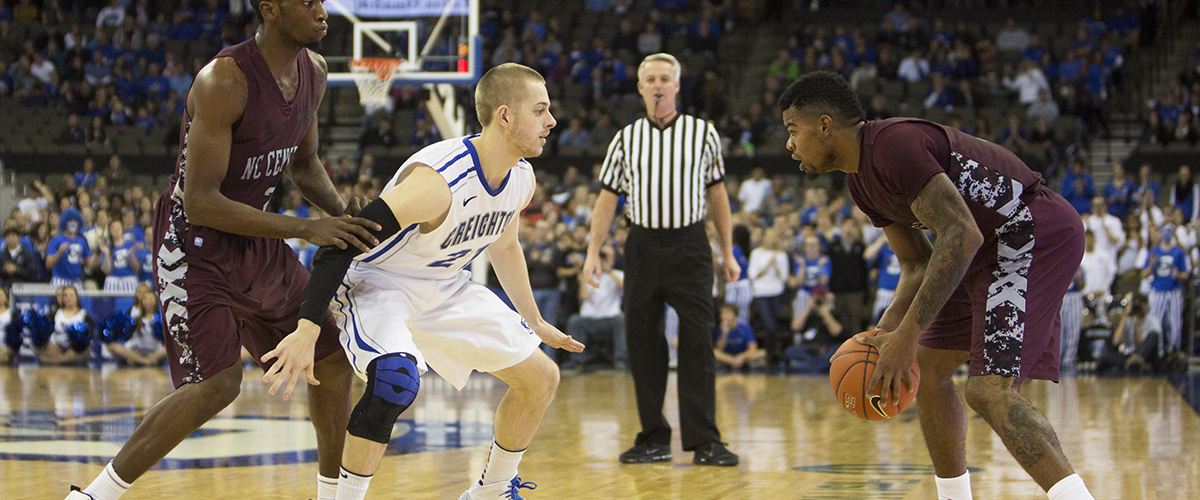 Photo Gallery: Creighton Bluejays Pull Away From North Carolina Central