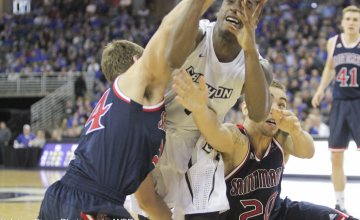 Photo Gallery: Saint Mary's Snaps Creighton's Home Winning Streak