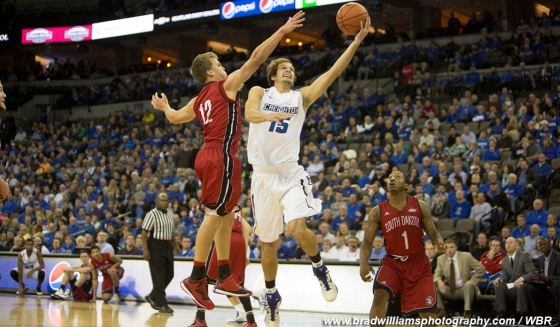 Photo Gallery: Creighton Men's Basketball Survives in 2OT Against South Dakota
