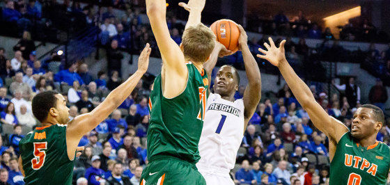 Photo Gallery: Creighton Defeats Texas Pan-American 75-60