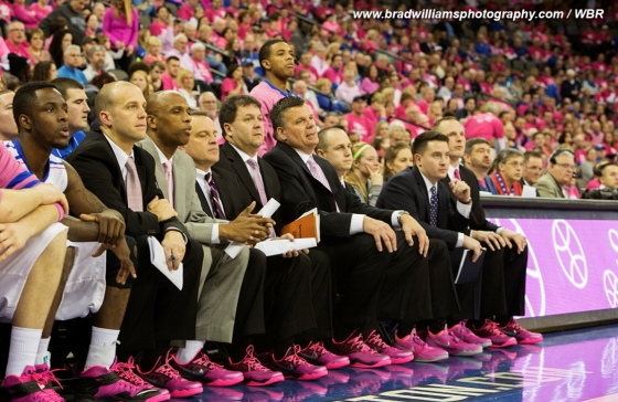 Photo Gallery: Creighton Basketball Goes Pink