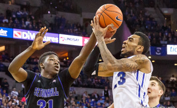 Bluejays show fight, but fall to Seton Hall on late 3-pointer