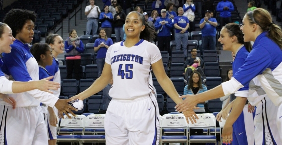 Pink Out game has deeper meaning for Creighton senior Alexis Akin-Otiko