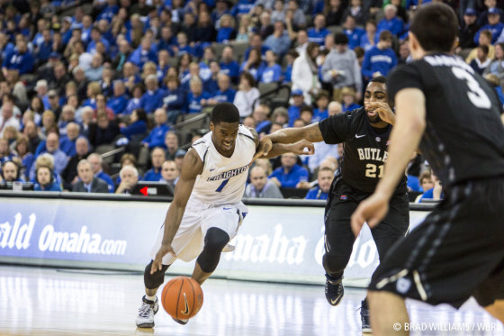 Late Shot by Roosevelt Jones Completes Butler's Comeback Against Creighton