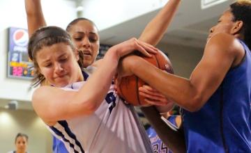 Photo Gallery: Creighton Women's Basketball Falls Just Short Against Depaul