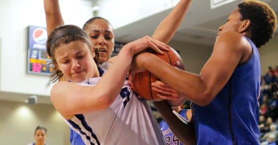 Photo Gallery: Creighton Women's Basketball Falls Just Short Against Depaul