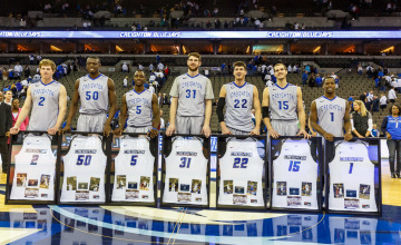 Photo Gallery: Creighton Men's Basketball Senior Day