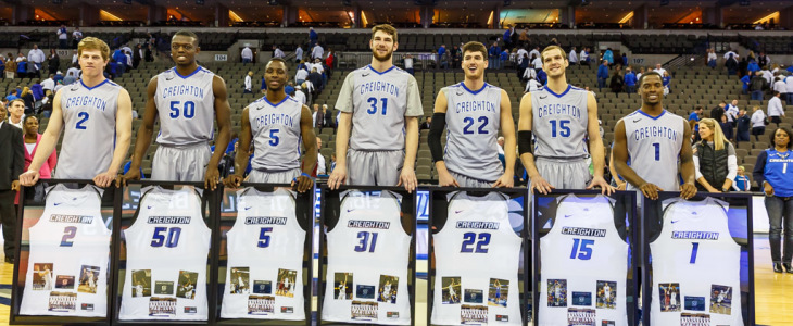 Photo Gallery: Creighton Men's Basketball Senior Day