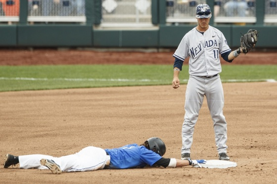 Photo Gallery: Creighton Baseball Loses to Nevada on Military and First Responders Day