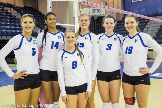 Ankeny Duo Bring Winning Combination to Creighton Volleyball
