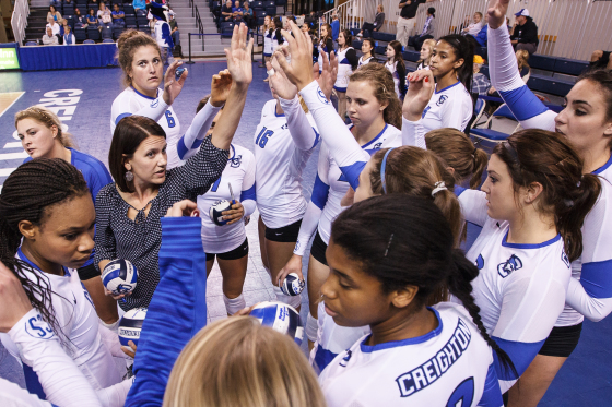 More Stiff Competition Awaits Creighton Volleyball in Cedar Falls