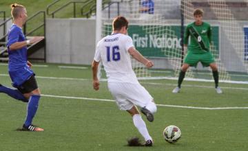 Photo Gallery: Creighton Bluejays Men's Soccer 2015 Blue-White Scrimmage