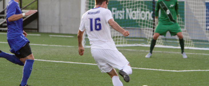 Photo Gallery: Creighton Bluejays Men's Soccer 2015 Blue-White Scrimmage