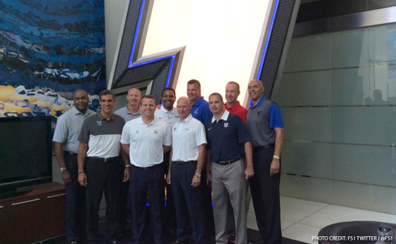 Big East Coaches Visit Fox Sports Studios to Preview Upcoming Season