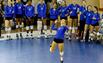 Photo Gallery:  Creighton Volleyball vs. #11 Wisconsin