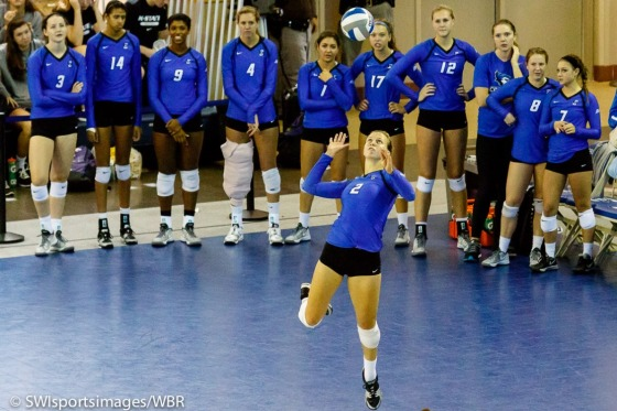 Creighton Volleyball Defends Home Court in Big East Opener