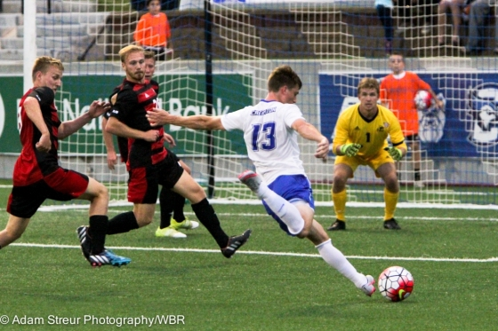 Photo Gallery:  #1 Creighton Men's Soccer Wins 2-0 over Northern Illinois