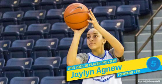 2015-16 Creighton Women's Basketball Profile: Jaylyn Agnew
