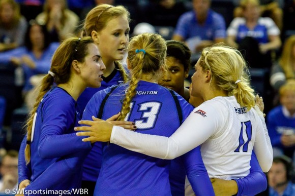 Bluejay Volleyball Returns to Action as Key Positions Still Remain Up for Grabs