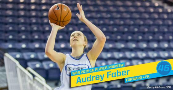 2015-16 Creighton Women's Basketball Profile: Audrey Faber