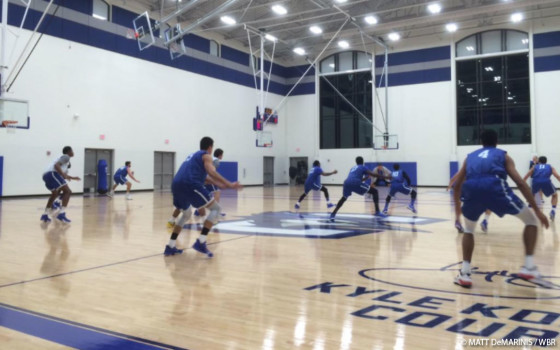 Practice Underway for Creighton Men's Basketball