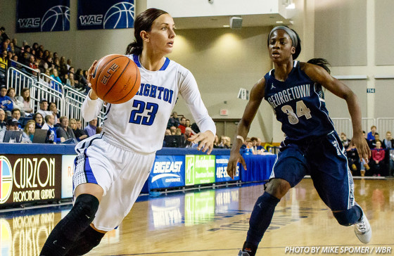 In her final season at Creighton, Marissa Janning wants to appreciate every moment