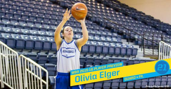 2015-16 Creighton Women's Basketball Profile: Olivia Elger