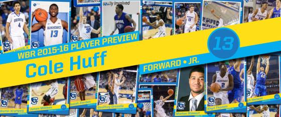 2015-16 Creighton Men's Basketball Profile: Cole Huff