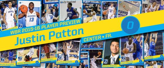 2015-16 Creighton Men's Basketball Profile: Justin Patton