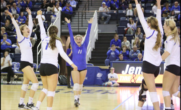 Photo Gallery: Creighton Volleyball Sweeps Butler