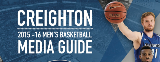 """The Dope Book"" — Inside the 2015-16 Creighton Men's Basketball Media Guide"