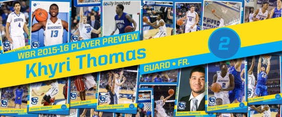 2015-16 Creighton Men's Basketball Profile: Khyri Thomas