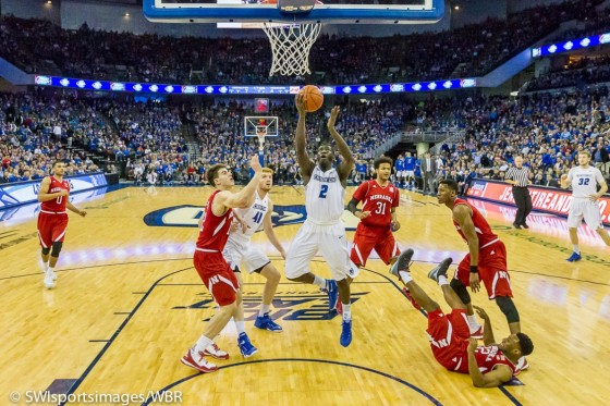Photo Gallery: Creighton Men's Basketball Defeats Nebraska For Fifth Consecutive Season